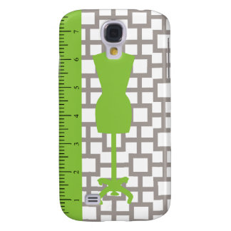 Modern Fashionista iPhone Case / Lime Samsung Galaxy S4 Cases