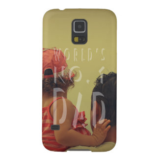 Modern Father's Day Best Dad Photo Cases For Galaxy S5