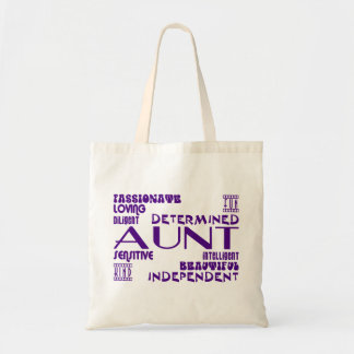 Modern Feminine Chic & Stylish Aunties & Aunts Tote Bag