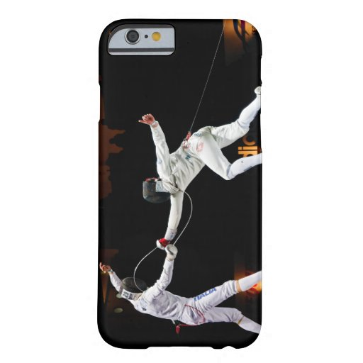 Modern Fencing Sword Fighting Dual iPhone 6 Case