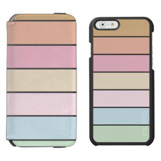 modern fine pastel color incipio watson™ iPhone 6 wallet case