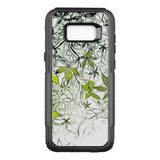 Modern Floral Background 234 OtterBox Commuter Samsung Galaxy S8+ Case