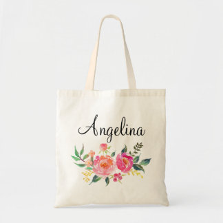 Modern Floral Bridesmaid Personalized-3