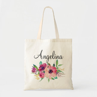 Modern Floral Bridesmaid Personalized-4