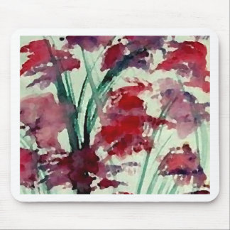 Modern Floral CricketDiane Art Mouse Pad