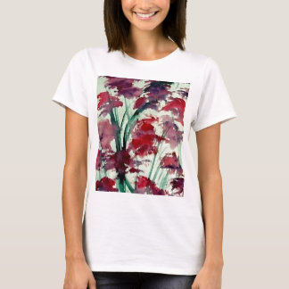 Modern Floral CricketDiane Art T-Shirt
