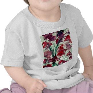 Modern Floral CricketDiane Art Tshirt