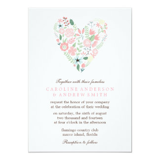 Shop Zazzle's selection of heart wedding invitations for your special day!