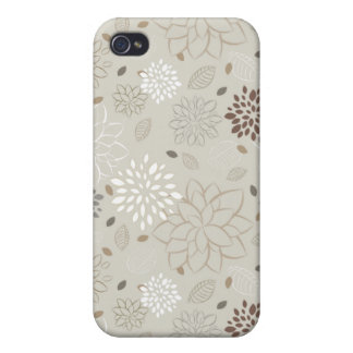 Modern Floral iPhone Case {Natural} Covers For iPhone 4