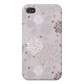 Modern Floral iPhone Case {Pink} iPhone 4 Covers