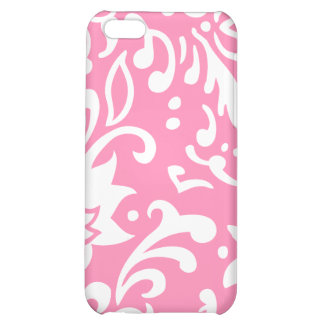 Modern Floral Pattern Gift Retro Baby Pink iPhone 5C Covers