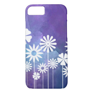 Modern Floral Purple iPhone7 Case
