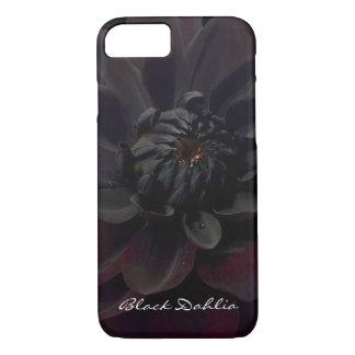 Modern Floral Summer Garden Flower Black Dahlia iPhone 7 Case