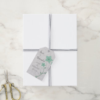 Modern Floral Wedding Mint PFBX