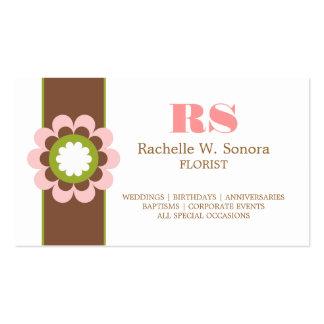 Modern Florist Business Card