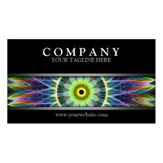 Modern Flower Eye Mandala Pack Of Standard Business Cards