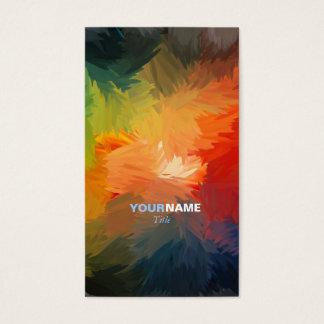 Modern Font Business Card