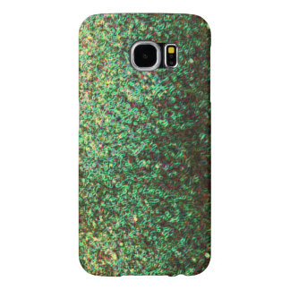 Modern Fractal Art Cool Unique Green Patterns Samsung Galaxy S6 Cases