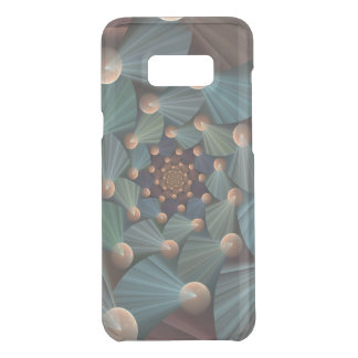 Modern Fractal Art With Depth, Brown, Slate, Blue Uncommon Samsung Galaxy S8 Plus Case