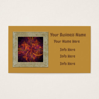Modern Fractal Business Card