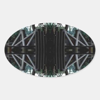 Modern Framework 101 - CricketDiane Oval Sticker
