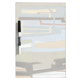 Modern Free Expression Painting by Norman Wyatt Dry Erase Board