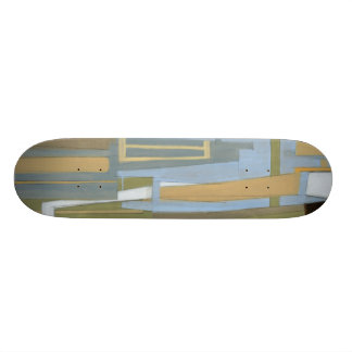 Modern Free Expression Painting by Norman Wyatt Skate Deck