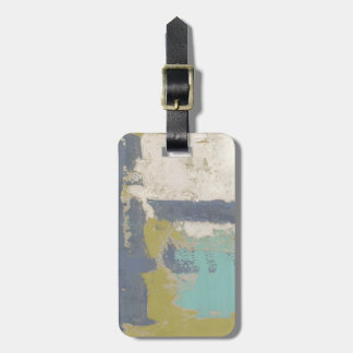 Modern Free Expression Painting Luggage Tag