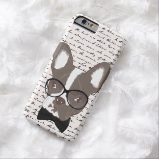Modern French Bulldog Hipster iPhone 6 Case