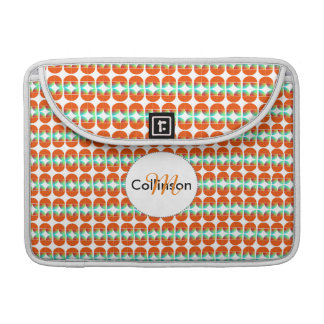 Modern Fresh Stylish Repeat Patterned Design Sleeve For MacBooks