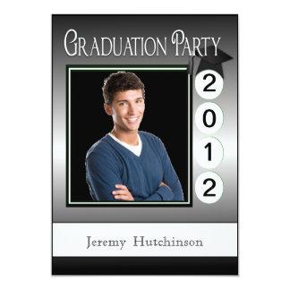 Modern Fun Graduation Party Custom Photo 13 Cm X 18 Cm Invitation Card
