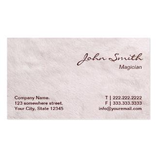 Modern Fur Texture Magician Pack Of Standard Business Cards