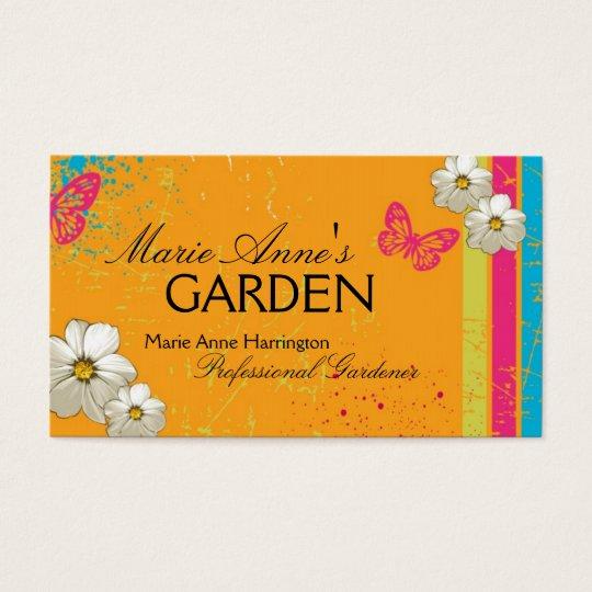 Modern Gardening Business Card