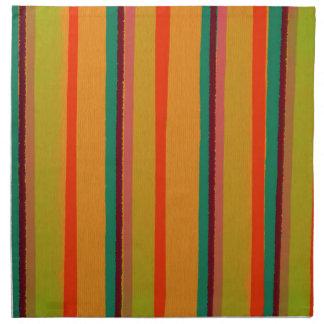 Modern Geeky Urban Stripes Napkin
