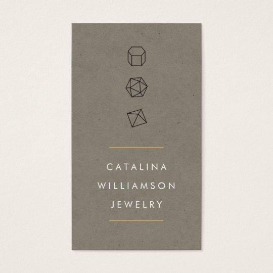 Modern Gemstone Trio Logo IV Jewellery Designer Business