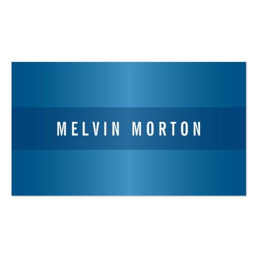 Modern generic blue stylish professional business card template