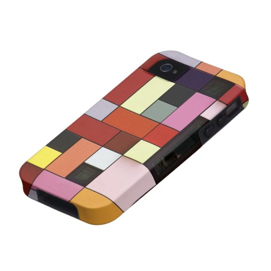 Modern Geometric Art iPhone 4/4S Case-Mate Case