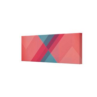 Modern Geometric blocks, designer art canvas print