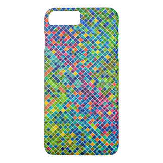 Modern Geometric Colourful Mosaic Pattern iPhone 8 Plus/7 Plus Case
