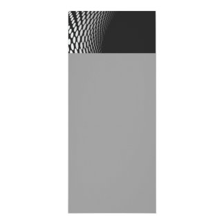 Modern Geometric Design 4x9.25 Paper Invitation Card