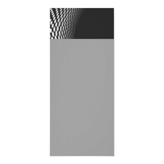 "Modern Geometric Design 4"" X 9.25"" Invitation Card"