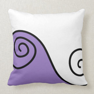 Modern Geometric Design Throw Pillow