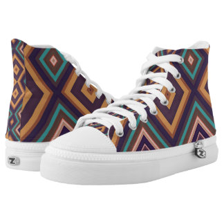 Modern Geometric Pattern Art Vita2 Sneakers Shoes