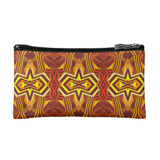 Modern Geometric Pattern Makeup Bag