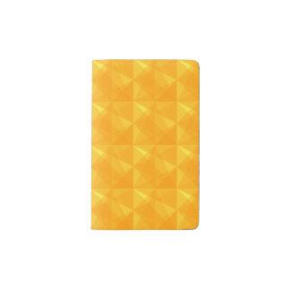 Modern geometric pattern notebook