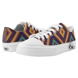 Modern Geometric Pattern Vita2 Sneakers Shoes