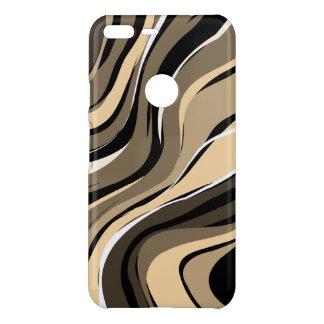 Modern Geometric Stripes Pattern Uncommon Google Pixel XL Case
