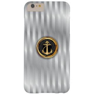 Modern Gold Anchor Metallic iPhone 6 Plus Case