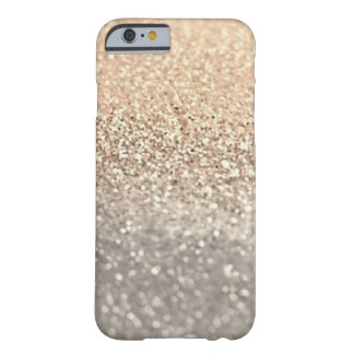 Modern Gold and Silver glitter iPhone 6/6s Case Barely There iPhone 6 Case