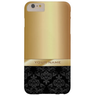 Modern Gold Foil Custom Name iPhone 6 Plus Case